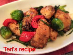 育毛レシピ 牡蠣と野菜のオイスターソース炒め