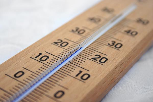 頭皮の温度