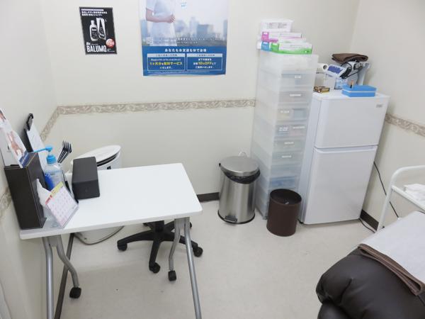 AGAスキンクリニック処置室